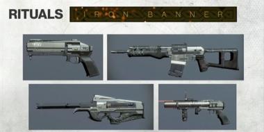 Iron Banner Weapons // Season 2