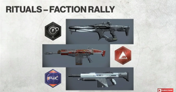 Faction Rally Weapons // Season 2