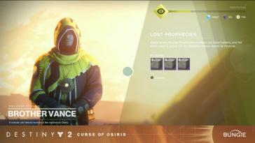 Curse of Osiris: Lost Prophecies