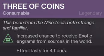 Three of Coins - Xur
