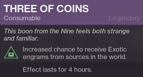 Three of Coins - Xur
