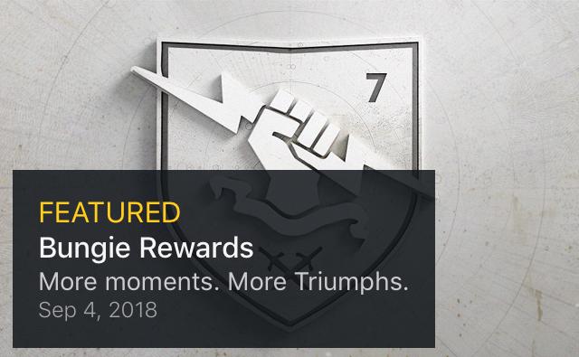 Destiny 2: Bungie Rewards – More Moments  More Triumphs  – Kyber's