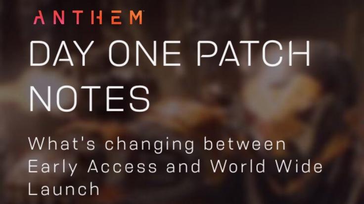 anthem patch day one