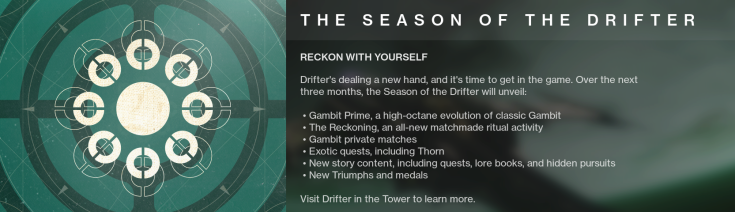 Destiny 2 Weekly Reset – Season of the Drifter is LIVE! (03