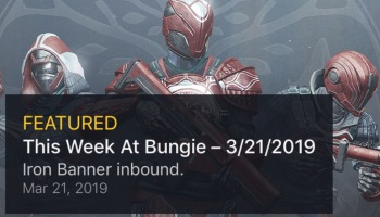 Destiny 2: This Week at Bungie – Stand with an Iron Lord – Kyber's