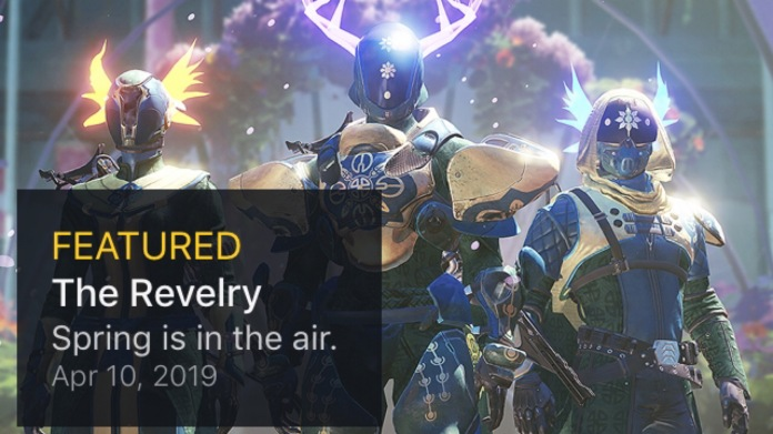 Destiny 2 The Revelry Spring Is In The Air Via Bungie Net Kyber S Corner