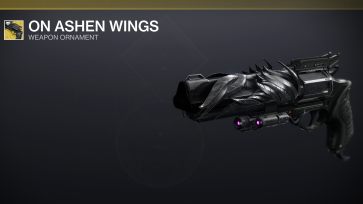 Hawkmoon Ornament - On Ashen Wings